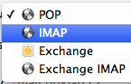POP3 na IMAP